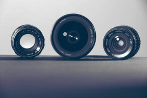 Image of Lens from Stock Snap to help focus on Digital Transformation